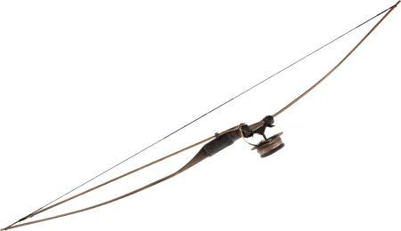 "89069: A Large Fishing Bow from ""Rambo"" (aka ""Rambo 4"") : Lot 89069"