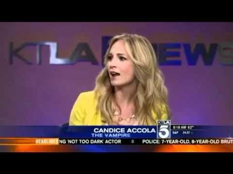 Candice Accola on KTLA Morning News   http://pintubest.com