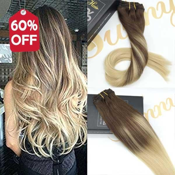 61 best Sunny Hair Clip in Human Hair Extensions images on ...