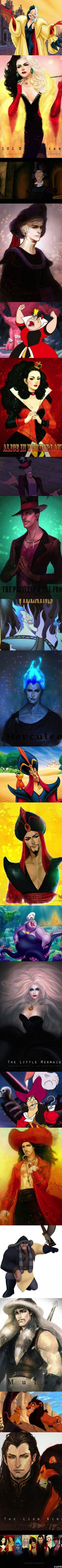 Japanese Anime vs Disney Cartoons: Holy crap! Who knew being evil could make you so hot!