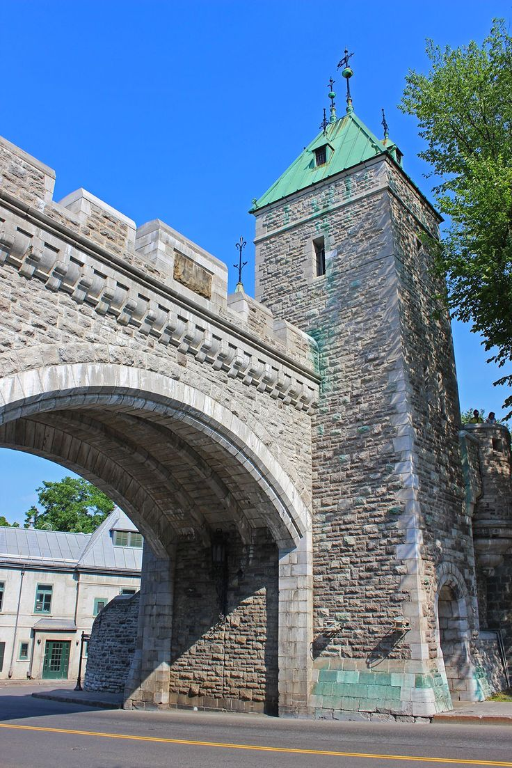 Quebec portes fortifications | Fortification Wall of Quebec City, UNESCO and National Historic Site ...