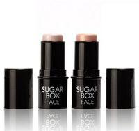 moda brillo destacando corrector cremoso palo cara maquillaje cuidado de marcador impermeable palo brillo plateado bronceador