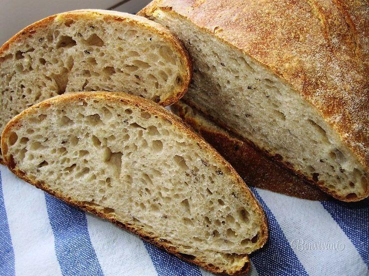 Kváskový chlieb s okami