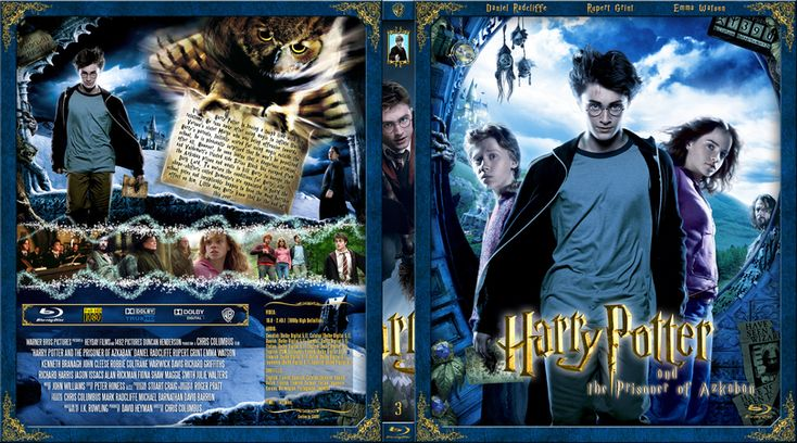 Harry Potter And The Prisoner Of Azkaban Blu Ray Custom Cover Prisoner Of Azkaban The Prisoner Of Azkaban Azkaban