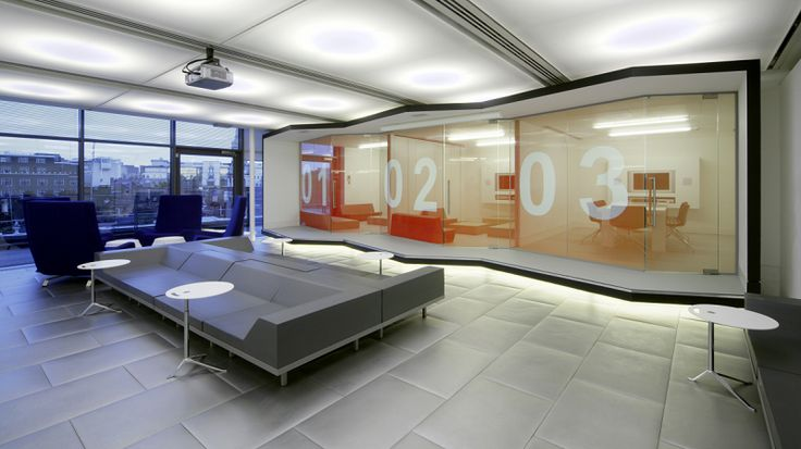 / Best 15 Modern Office Design Ideas, Red Bull #PatternPod #Office #Interiors