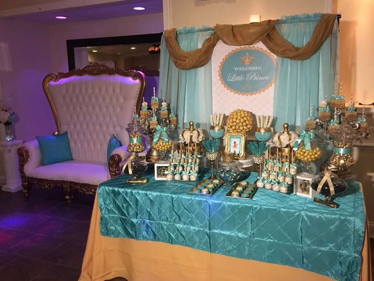 Royal Baby Shower Baby Shower Party Ideas | Photo 2 of 12