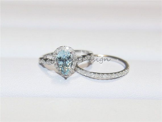 17 Best Ideas About Aquamarine Engagement Rings On Pinterest