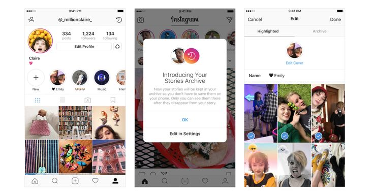 """Instagram is copying Snapchat's Memories feature and going a step further, letting you create a permanent home to show off formerly ephemeral content."""