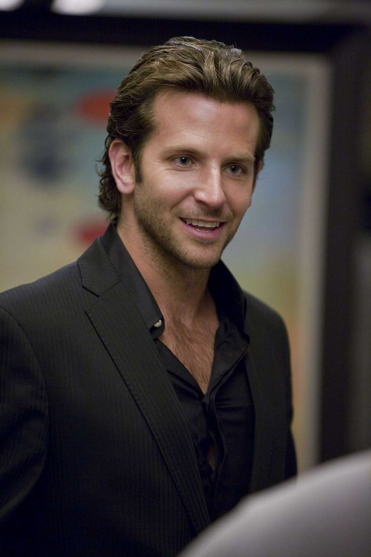 Bradley Cooper, would have been the perfect choice for Christian Grey..