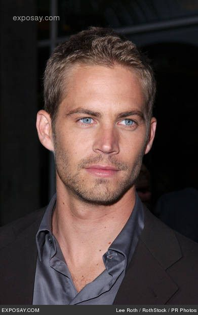 Paul Walker ....what a pity he died at such a young age,in such a tragic way !