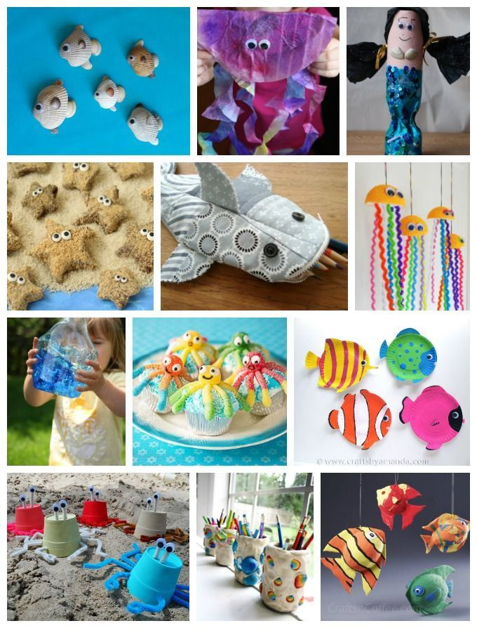 Ocean Crafts Recipes Over 200 Ideas Preschool Class Activities