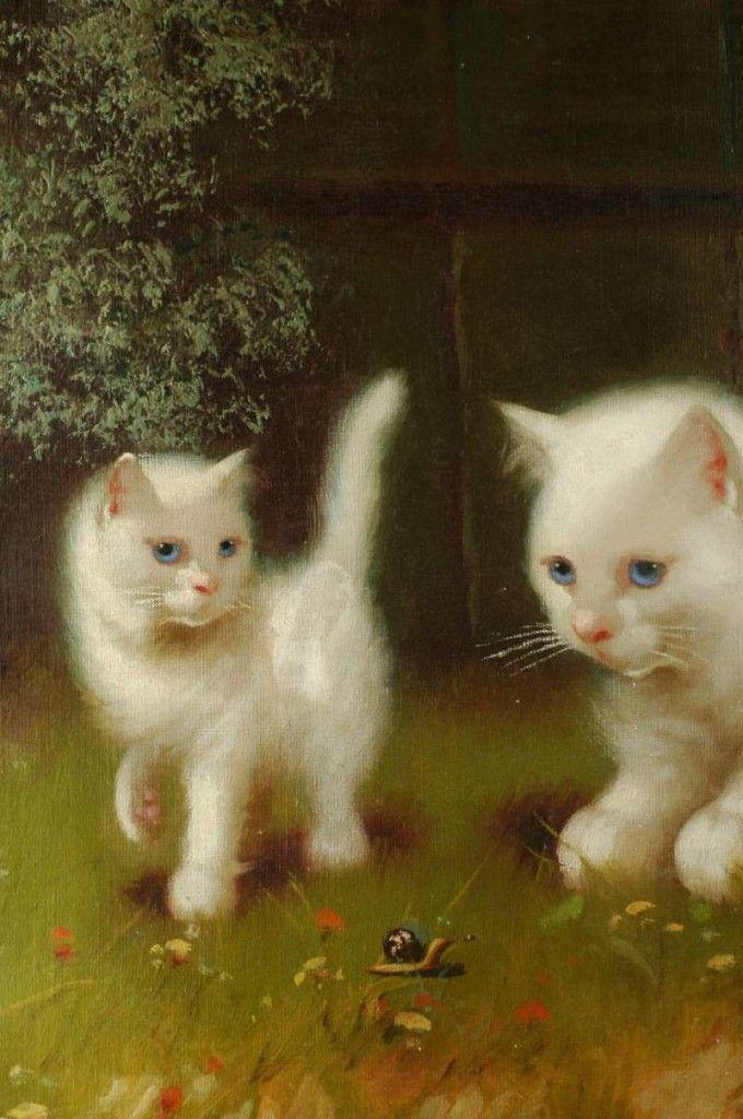 Beno Boleradszky (1885-1957, Hungarian) - THE GREAT CAT