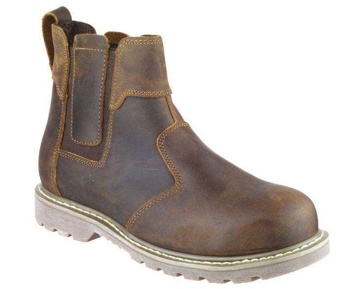 Amblers FS165 Crazy Horse Safety Welted Dealer Boots