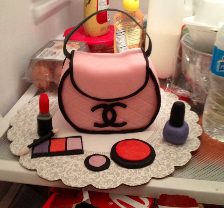 Best Bianca Purse Cakes Images On Pinterest Purse Cakes - Purse birthday cake ideas