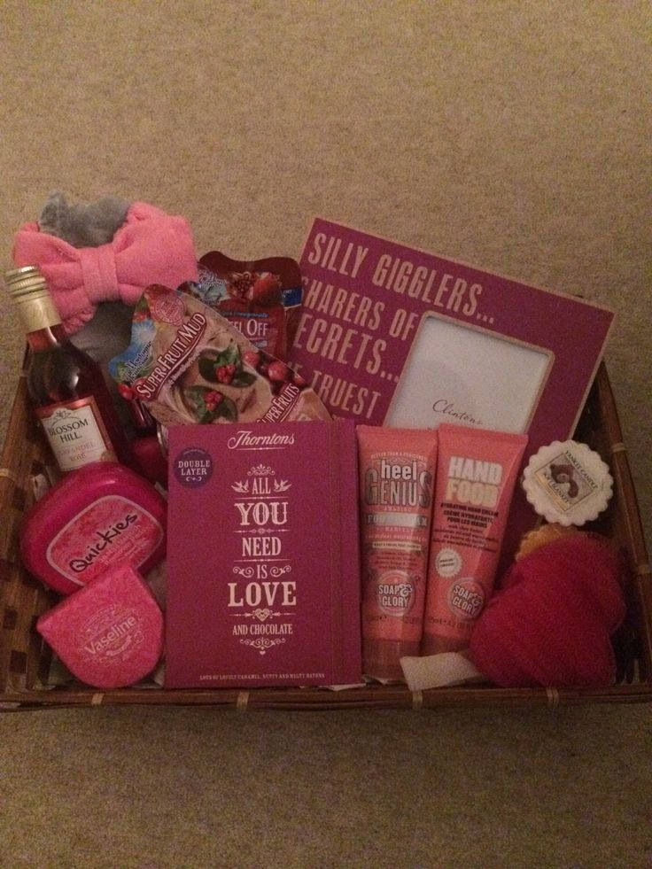 Happy birthday girls night in hamper for a friend.