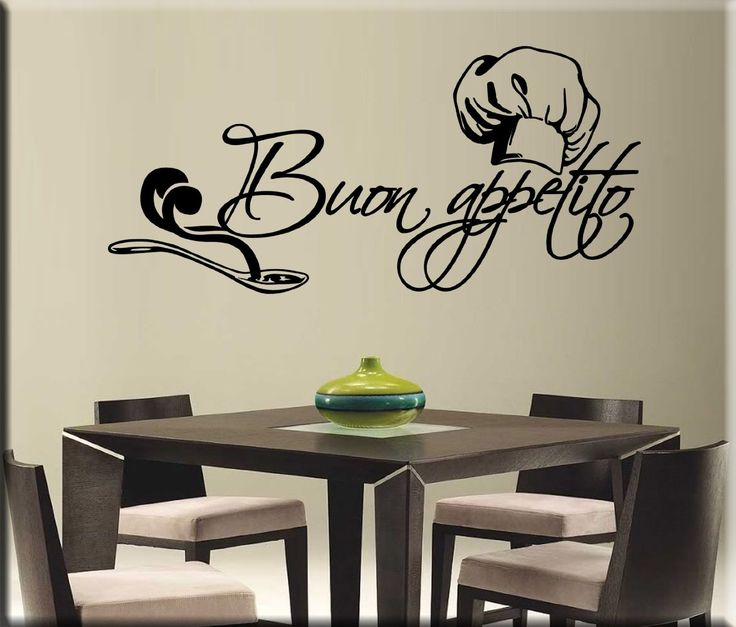 29 best images about idee per la casa on pinterest - Wall stickers per cucina ...