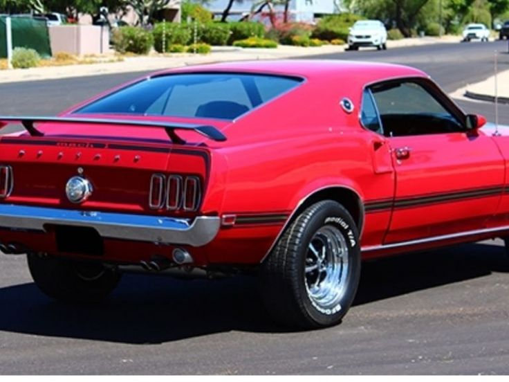 Ford Mustang mach one 428 - 1969