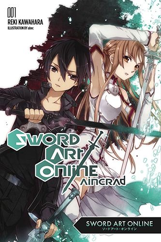 Sword Art Online: Aincrad - Reki Kawahara. In the year 2022, some six thousand gamers excitedly explore the new Sword Art Online, which manipulates users' brain waves to create a wholly realistic gaming experience, but soon learn it lacks a log-out button and to escape they must conquer all one hundred floors--or die trying.