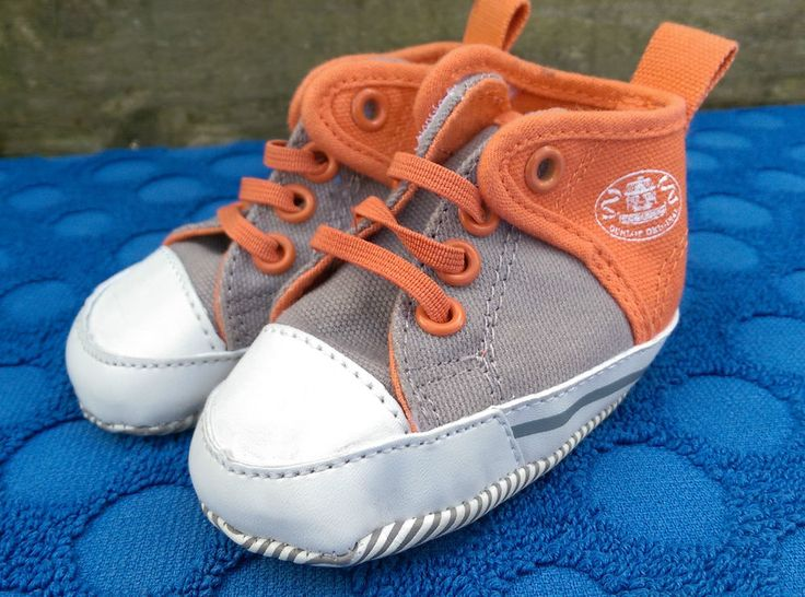 Dunlop Baby Boys Shoes Trainers Orange and Grey Size C0 UK EU 15 Lovely Boots in Baby, Clothes, Shoes & Accessories, Shoes | eBay