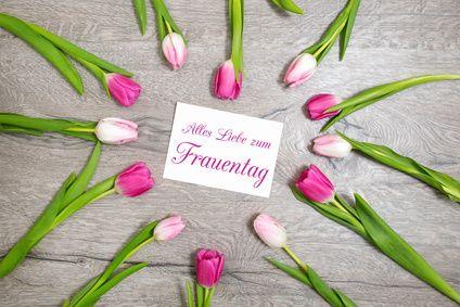 Weltfrauentag am 08. März - Alles Liebe!