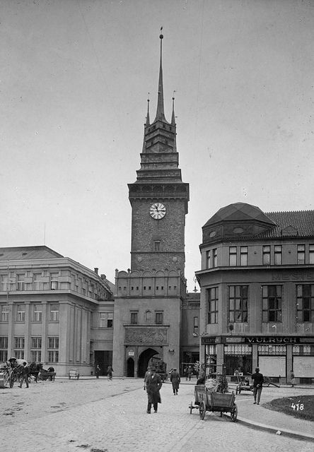 Pardubice, Bohemia, the Czech Republic 1927