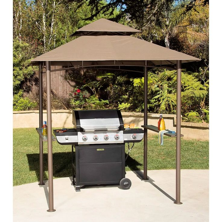 Grill Canopy Garage And Entry : Best grill gazebo ideas on pinterest bbq