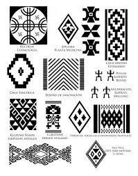 Resultado de imagen para simbolos textiles mapuches y su significado