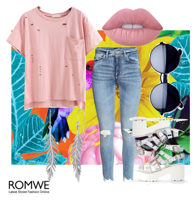 """""""Untitled #87"""" by amberekkel on Polyvore featuring Lime Crime"""