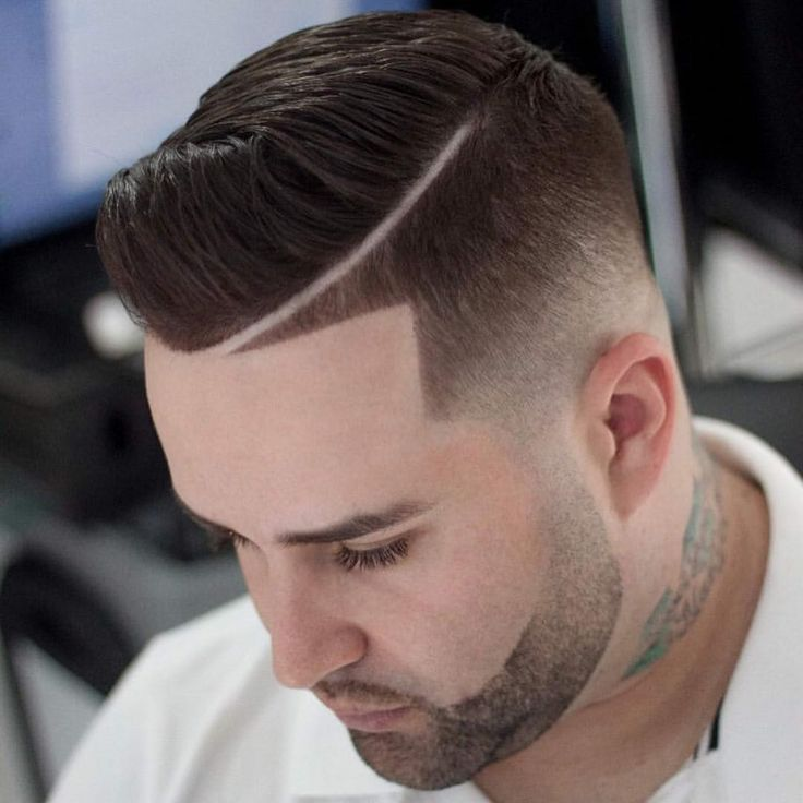 Low Fade + Line UP + Comb-Over