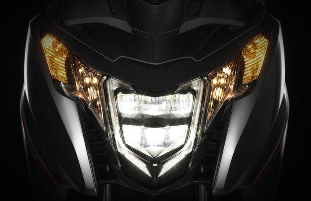 Scooter da marca terá faróis de LED, transmissão de dupla embreagem e novas configurações