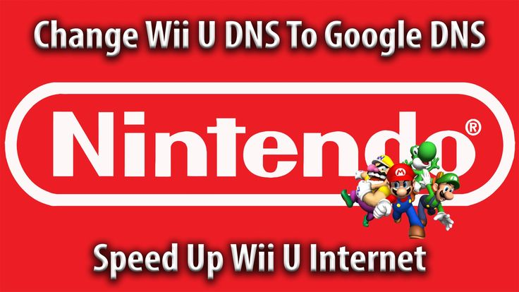How to Change Nintendo Wii U DNS settings to Google DNS.. Helps with network issues and could speed your connection up. Third-party DNS servers can be faster...