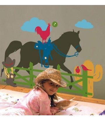 http://www.beddengoed.com/restanten/kidslab-muursticker-paard