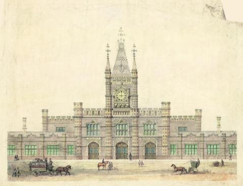 HISTORIC images of the original architectural drawings by Isambard Kingdom Brunel have been captured for the first time on a new Network Rail virtual archive.