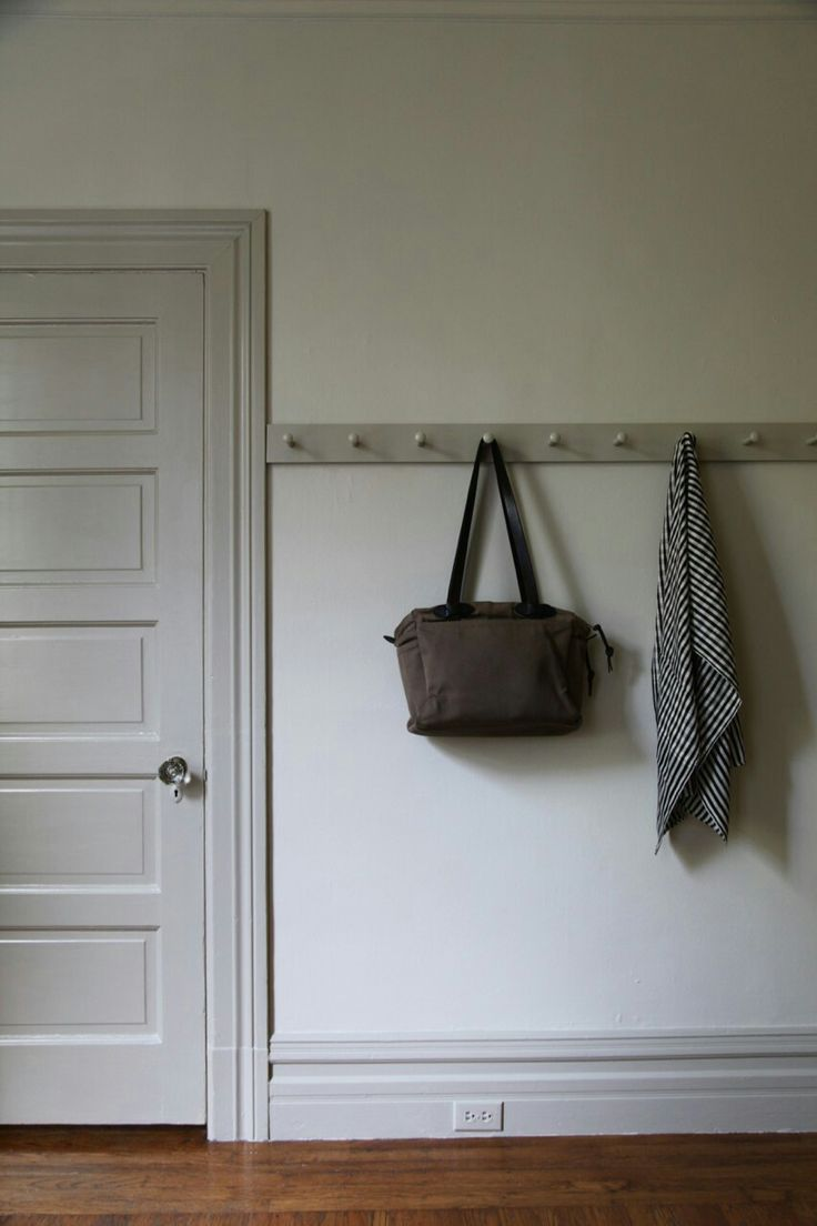 Farrow and Ball Shadow White walls and Drop Cloth woodwork DROP CLOTH for Closet Doors
