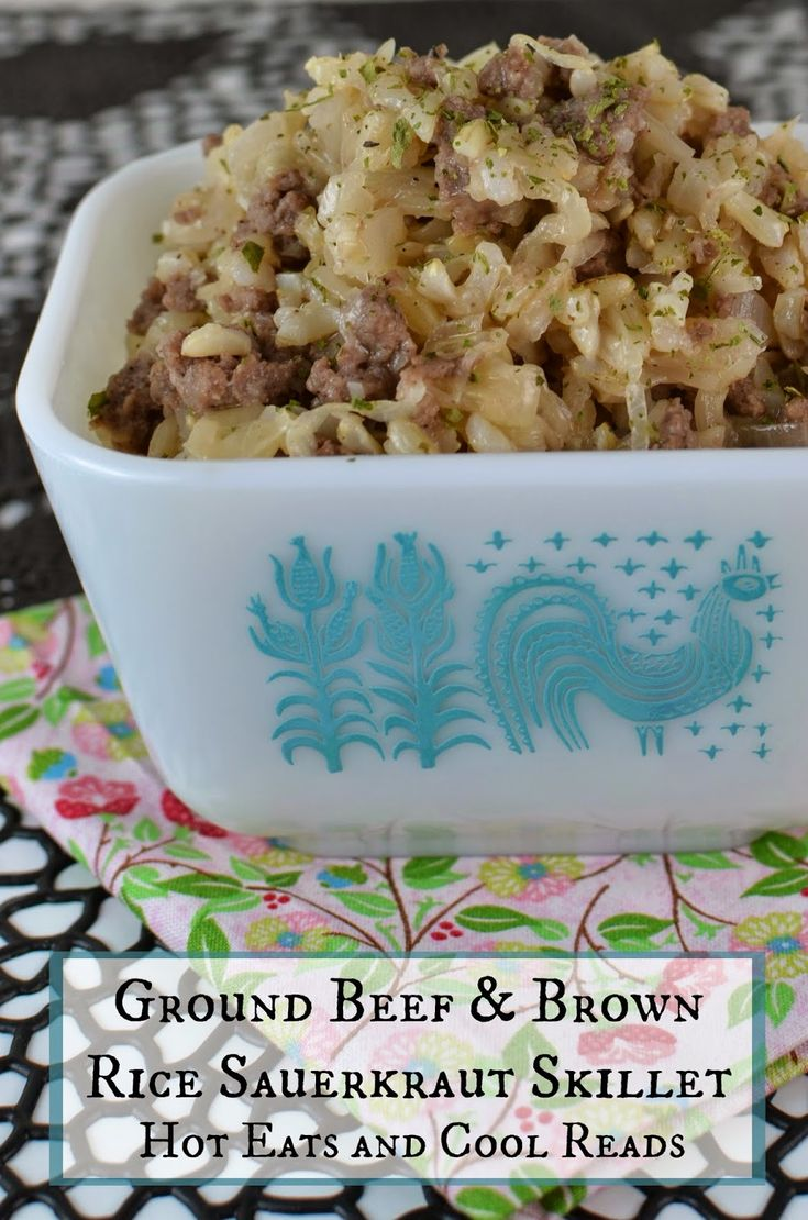 Recipes With Ground Beef Lettuce Wrap: Hot Eats And Cool Reads: Ground Beef And Brown Rice
