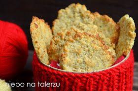 niebo na talerzu: Szybkie kokosowe ciasteczka owsiane. Kokosanki owsiane