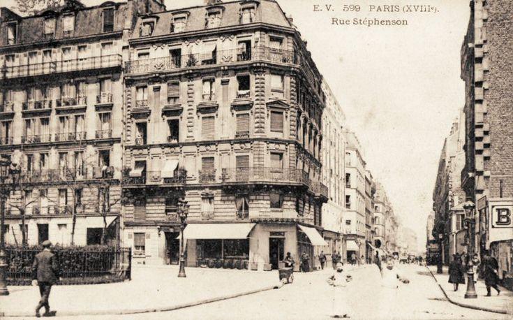 rue Stephenson - Paris 18e