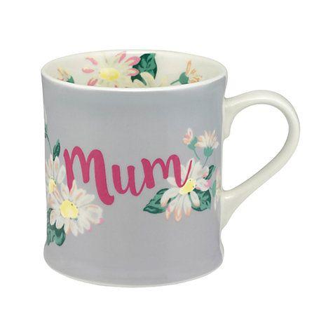 Buy Cath Kidston Daisies & Buttercups Mum Gift Boxed Mug, Multi, 350ml Online at johnlewis.com