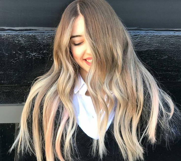 balyajlı ve gölgeli saç renkleri 2018 | Güzelkız.com