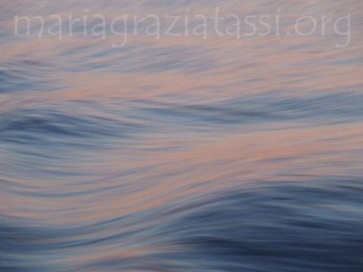 Sailing at the sunset.