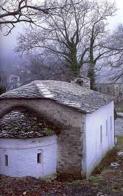Agios Stephanos in Tsagarada, Mount Pelion, Greece