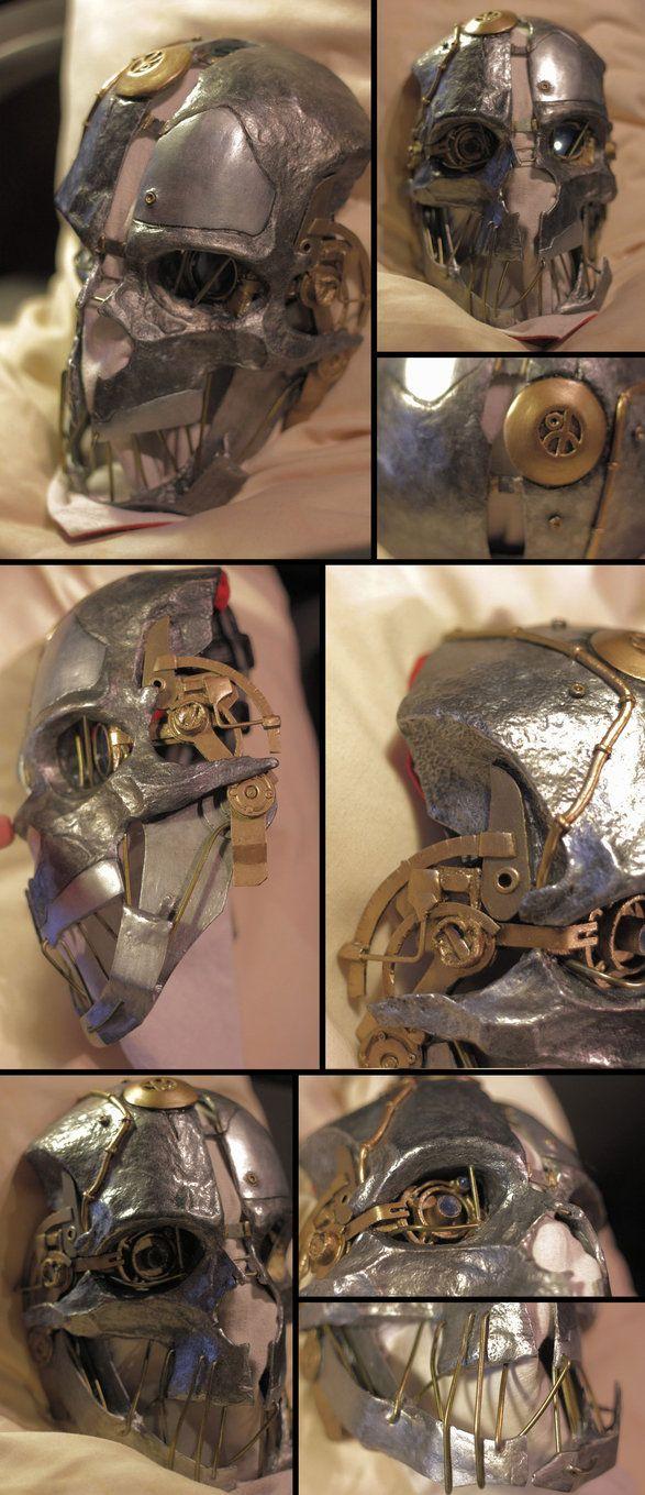 Corvo's Mask II by NeonCowboy on DeviantArt