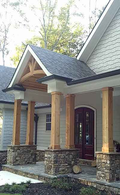 17 Best Ideas About Modern Front Porches On Pinterest Contemporary Front Do