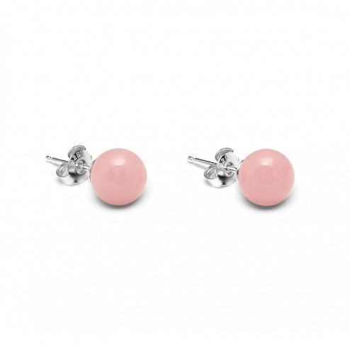 Lola Rose Nia Pink Grace Quartzite Stud Earrings at aquaruby.com
