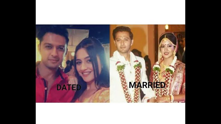 INDIAN TELEVISION ACTORS WHO DATED ONE AND MARRIED ANOTHER