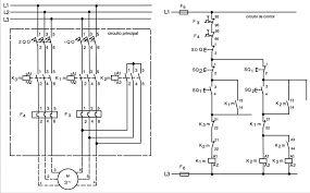 diagrama de coneccion de motor monofasico auto reversible