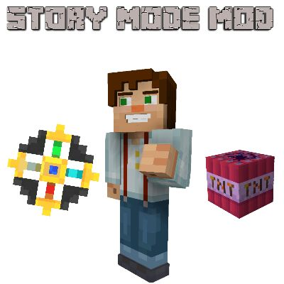 Download Minecraft Story Mode Mod Mod 1.13/1.12.2/1.11.2 - It adds some things from Minecraft Story Mode...
