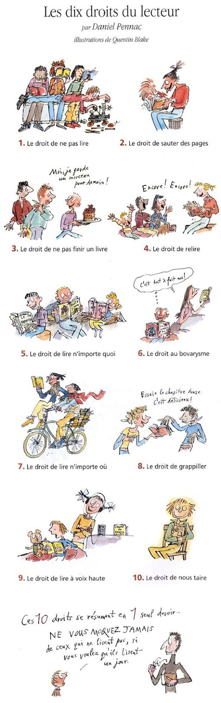 Les dix droits du lecteur