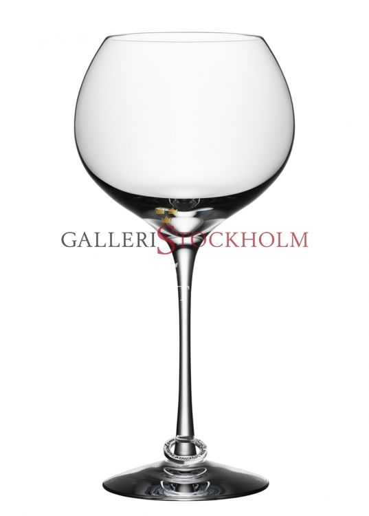 Efva Attling - Kristallglas - Orrefors - Amor Vincit omnia vinglas Beställ här! Klicka på bilden.