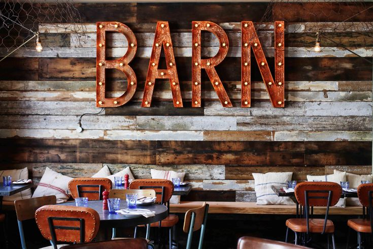 The Cornish Barn restaurant at Artist Residence Penzance